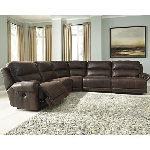 Luttrell 5-piece Power Reclining Sectional