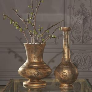Urn w/Relief-Gold