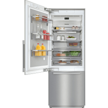 See Details - KF 2812 SF - MasterCool™ fridge-freezer For high-end design and technology on a large scale.