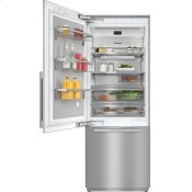 KF 2811 SF - MasterCool™ fridge-freezer with high-quality features and maximum storage space for exacting demands.