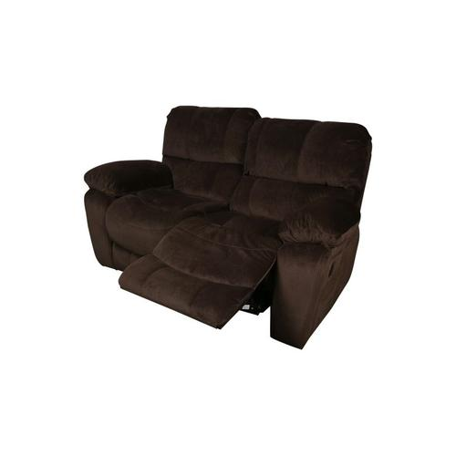 Ramsey Chocolate Reclining Loveseat, M6012