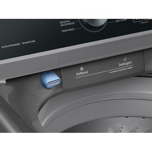 4.4 cu. ft. Top Load Washer with ActiveWave™ Agitator and Active WaterJet in Platinum