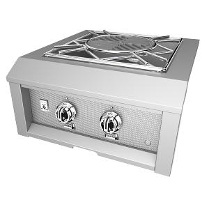 "Hestan - 24"" Hestan Outdoor Power Burner - AGPB Series - Froth"