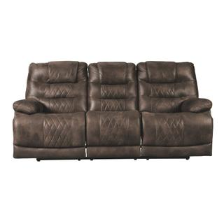 Welsford Power Reclining Sofa w/ Adjustable Headrest