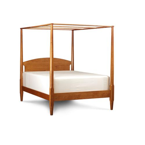 Shaker Pencil Post Bed, King