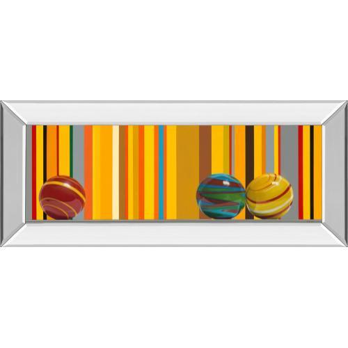 """The Four Seasons - Summer"" By Kevork Cholakian Mirror Framed Print Wall Art"