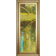 """""""Aller Chartreuse"""" By Patrick St. Germain Framed Print Wall Art"""