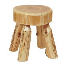 Small Stool - Natural Cedar