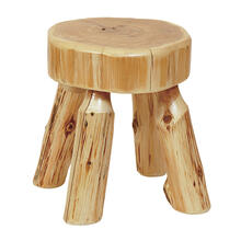 Foot Stool - Natural Cedar