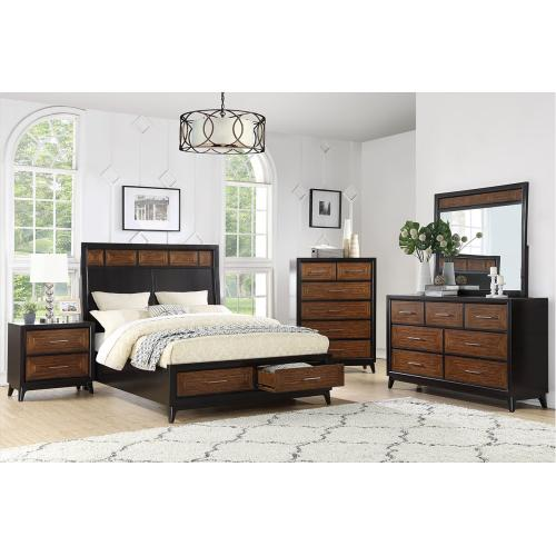 4Pc Eastern King Bed Set
