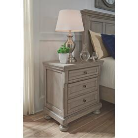 Lettner Nightstand Gray