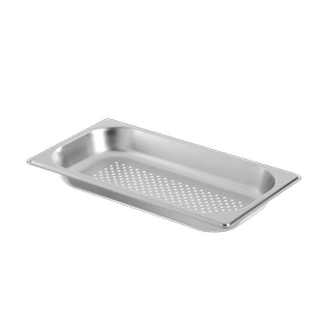 GaggenauHalf Size Stainless Steel Pan - Perforated GN124130