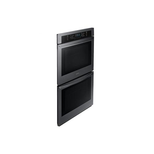 "30"" Double Wall Oven with Wi-Fi in Black Stainless Steel"