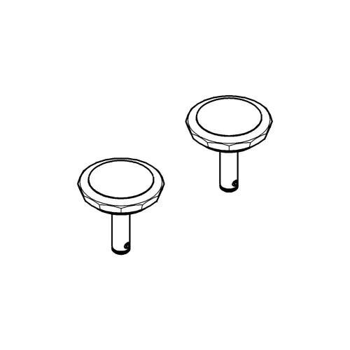 Kensington Swarovski Crystal Handles (pair)