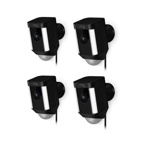 4-Pack Spotlight Cam Wired - White