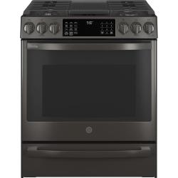 "GE Profile™ 30"" Smart Slide-In Front-Control Gas Range with No Preheat Air Fry"