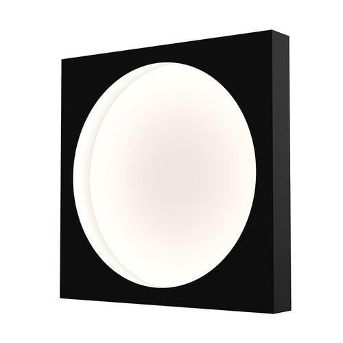 "Sonneman - A Way of Light - Vuoto LED Mount [Size=15"", Color/Finish=Satin Black]"