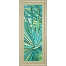 """""""Fan Palm I"""" By Suzanne Wilkins Framed Print Wall Art"""