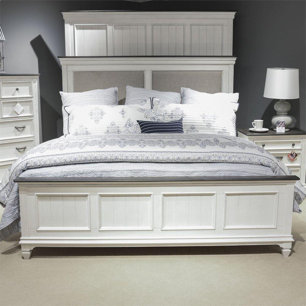 King California Upholstered Bed