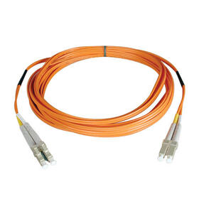 Duplex Multimode 50/125 Fiber Patch Cable (LC/LC), 25M (82 ft.)
