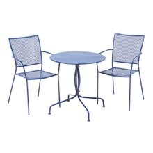 """Martini Iron 27.5"""" Round Bistro Table"""