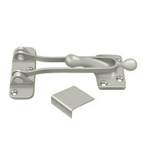 """Deltana - 5"""" Door Guard - Brushed Nickel"""