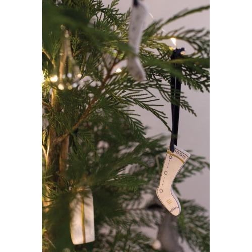 "1.25""x 3.5""- Set of 3 E+E Stocking Ornament"