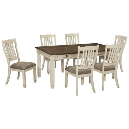 See Details - Dining Table and 6 Chairs