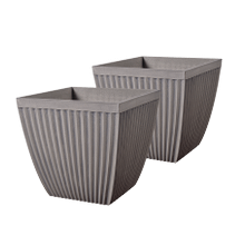 Poppy - 2 pc Planter Set Square
