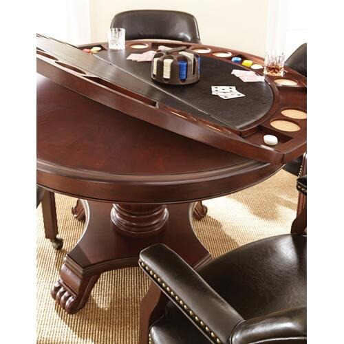 "Tournament Table Top and Feet, 48"" Round"