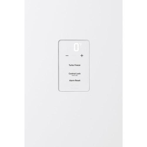 GE 14.1 Cu. Ft. Frost Free Upright Freezer - FUF14SMRWW