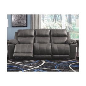 Erlangen  PWR REC Sofa with ADJ Headrest Midnight