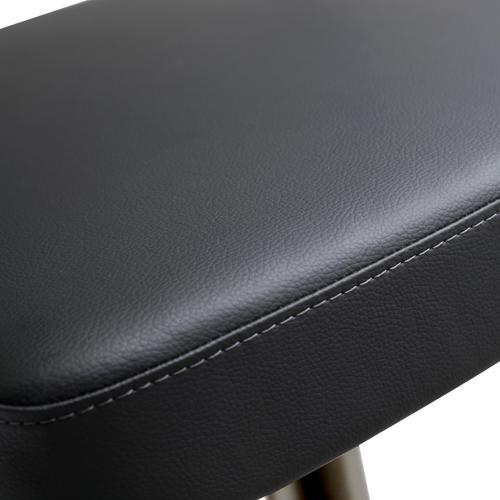 Cosmo Black on Black Steel Barstool