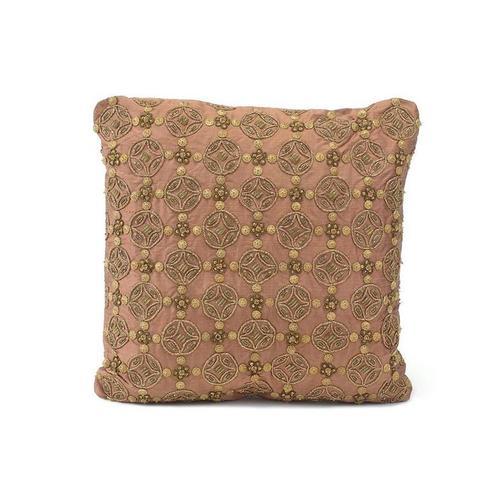 Rose Silk Pillow