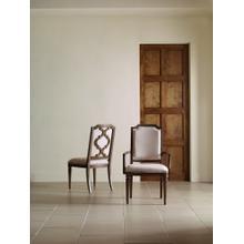 Upholstered Splat Back Side Chair