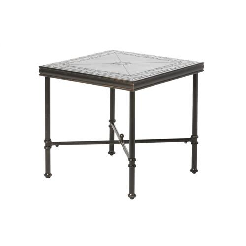 """Alfresco Home - Honeycomb 24"""" Square Side Table"""