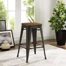 Promenade Counter Stool in Brown