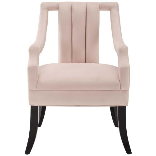 Harken Accent Chair Performance Velvet Set of 2 in Pink