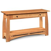 """See Details - Aspen 1-Drawer Sofa Table with Inlay, 48""""w x 16""""d x 28 """"h"""