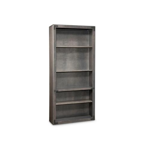 Saratoga Bookcase w/3 Adjustable Shelves w/Doors