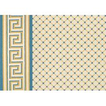 Legacy Collection Ardmore - Yellow-Blue on White 0631/0005