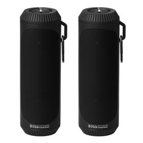 Portable Bluetooth Speakers (Comes in pair) with TWS- True Wireless Stereo (Link and Play Both Speakers Simultaneously)