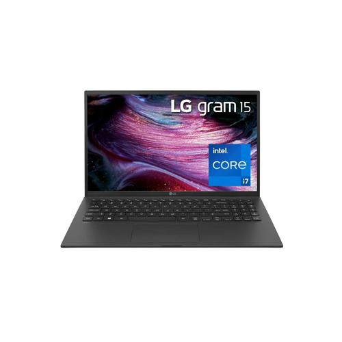 """LG - LG gram 15"""" Ultra-Lightweight and Slim Laptop with 11th Gen Intel® Core™ i7 Processor and Iris® Xe Graphics"""