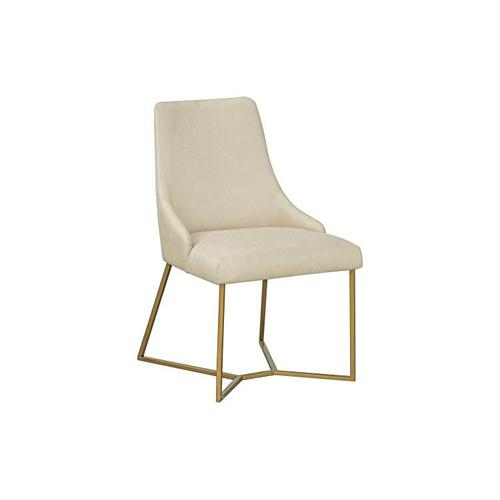 Standard Furniture - Nathan 2-Pack Upholstered Dining Chair with Metal Base