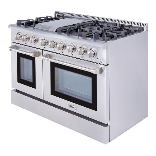 48 Inch 6 Burner Professional Gas Range
