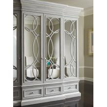 East Hampton Display/Media Cabinet with Mirrored Doors