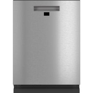 Cafe AppliancesSmart Stainless Steel Interior Dishwasher with Sanitize and Ultra Wash & Dual Convection Ultra Dry in Platinum Glass