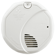 Hardwire Dual Photoelectric and Ionization Sensor Smoke Alarm with Battery Backup