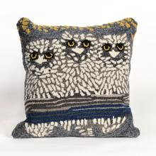 View Product - Liora Manne Frontporch Owls Indoor/Outdoor Pillow Night
