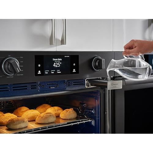 "30"" Flex Duo™ Chef Collection Single Wall Oven in Matte Black Stainless Steel"